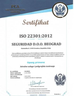 Seguridad-sertifikat-iso-22301